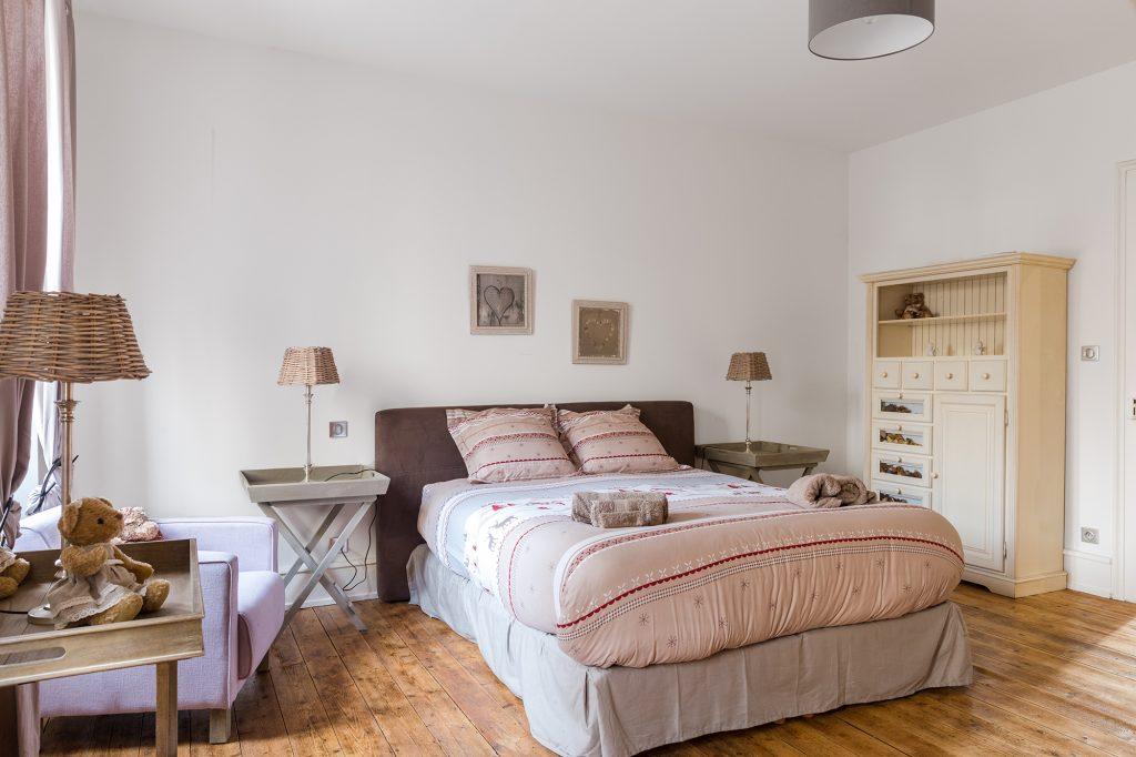 Location appartement Riquewihr Alsace - Villa Maeva chambre 2 coin couchage